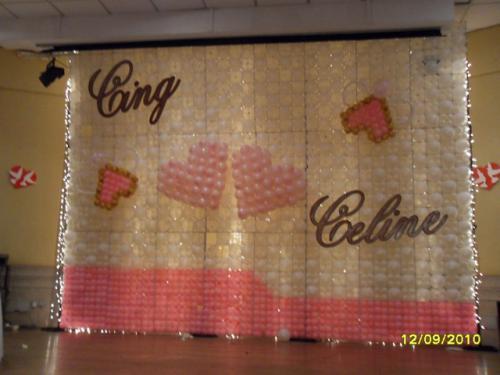 Balloon Decorations Wedding Balloon Wall