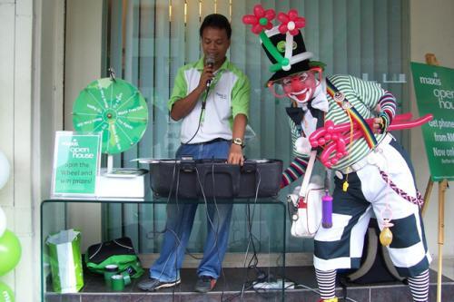 Deejay & Clown