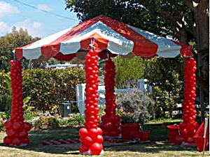 Canopy with Balloon Design & Broadconn Event Sdn Bhd -- The Event Specialist